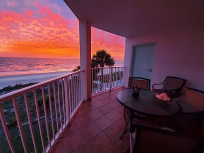 Photo for FOOTPRINTS HIDEAWAY ON THE GULF/2 BALCONIES SURROUNDED BY GULF AND INTERCOASTAL