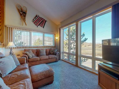 Photo for NEW LISTING! Ski-in/ski-out condo w/ mountain view & shared pool/tennis!