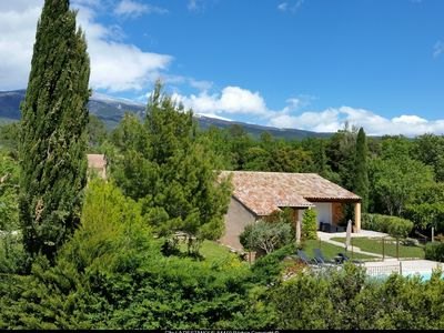 Photo for Air-conditioned house Private pool Bédoin / Ventoux Ideal cyclists!  Internet .