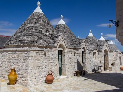 Photo for Trulli in ancient farm with pool