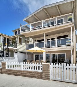 Photo for BALBOA BEAUTY Large Family Oceanfront with AMAZING DECK VIEW of the BEACH