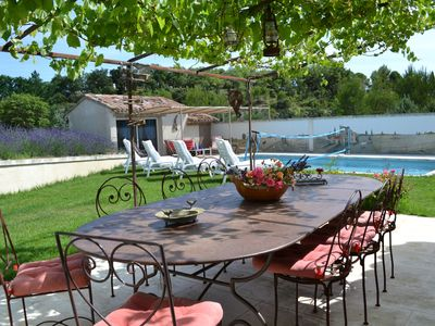 Photo for La Tuiliere: House with garden and pool 8 people