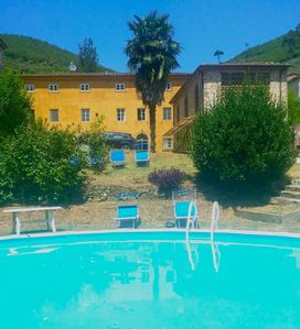 Photo for Restored barn with large pool and mountain stream