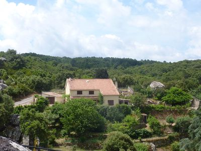 Photo for Large house in the Alta Rocca in southern Corsica