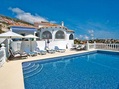 Photo for Vacation home Casa Dalias  in Benitachell, Costa Blanca - 10 persons, 5 bedrooms