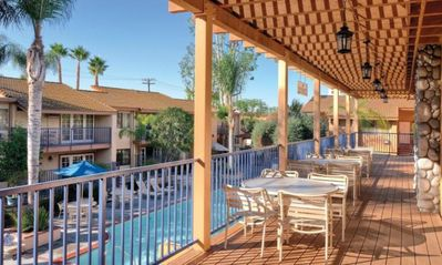 Photo for Dolphins Cove 2 Bed condo/ 15 minutes from Disneyland New Years week Timeshare