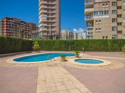 Photo for 2 bedroom Apartment, sleeps 6 in Calpe with Pool, Air Con and WiFi