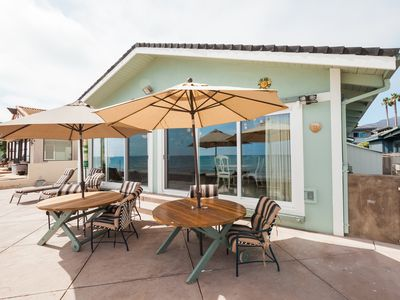 Photo for Charming Ocean Front Cottage at Faria Beach!