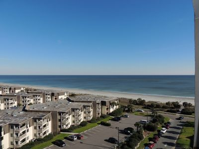 Photo for Great ocean  View  From the 10th Floor At OCEAN FOREST PLAZA #1001