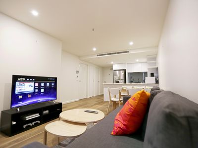Photo for 2BR Apartment Vacation Rental in Brunswick, VIC