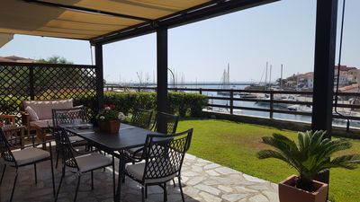 Photo for Casa Scirocco, small villa with spectacular views of the port of Stintino