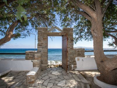 Photo for Unforgettable  Tinos  beach house I