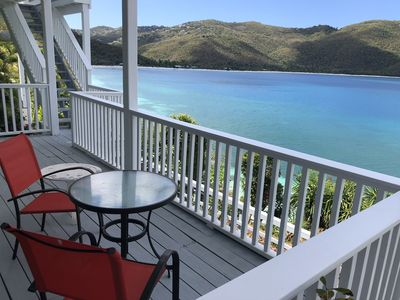 Photo for Villa Eau Claire - Magens Bay Affordable Beachfront Villa