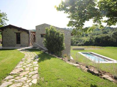 Photo for Molino dei Ciliegi, Villa With Spa And Heated Pool In The Heart Of Umbria
