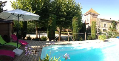 Photo for Cottage with heated pool and shelter, air-conditioned and quiet near Carcassonne