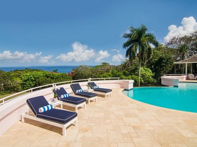 Photo for Luxury 5 Bedroom Private Fully Staffed Villa in Montego Bay with Private Pool and Amazing Views