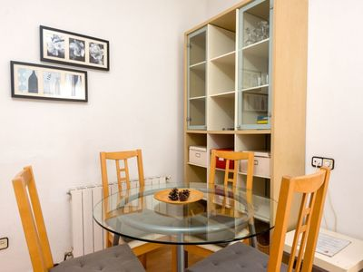 Photo for Apartment 1.2 km from the center of Barcelona with Lift, Internet, Washing machine, Air conditioning (88971)