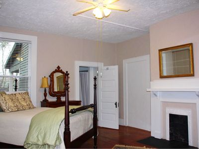 Photo for Beautifully Renovated 1 Bedroom Apt. In Historic Montford Home, Walk Downtown