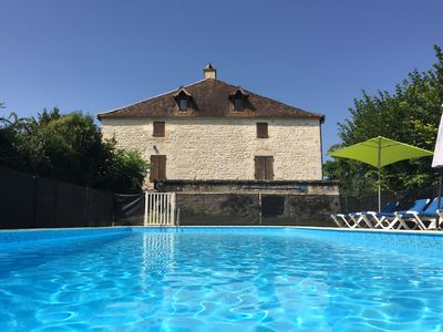 Photo for Fabulous Stone Farmhouse With Large Private Pool
