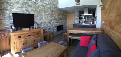 Photo for Belle Plagne: 4 rooms/10 ppl. – At the runs, covered parking, cleaning, internet