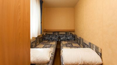 Photo for CAMPING KLAUS: 1 hour from Venice, 1 minute from the sea. Maxi Caravan Annalisa 01