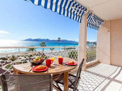 Photo for waterfront - nice 2 bedroom apartment with terrace
