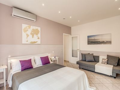 Photo for A Lovely Apartment In The Heart Of Ostia Lido Nearby The Sea Of Rome