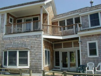 Back Deck and Upper Deck