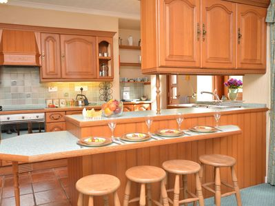 Well-equipped spacious kitchen/diner