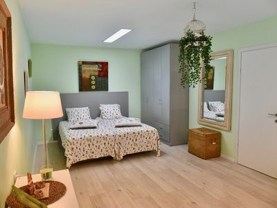 Photo for Beautiful guest room with garden and swimming pool.