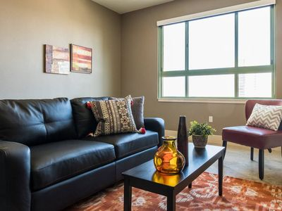 Photo for Skyline Views @ 1BR Loft + Pool | Near Market Sq