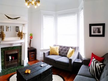 Charming Edwardian Flat - Close To Everything In The Heart Of San Francisco