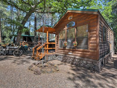 Photo for NEW Pinetop Cabin w/Patio-1 Mile from Main Street