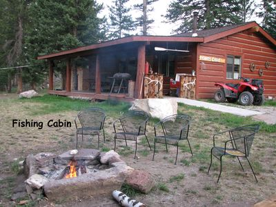 Photo for Fishing Cabin on the Clarks Fork of the Yellowstone River Close to Yellowstone!