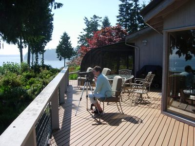 Photo for Port Ludlow, Highbank Waterfront Home with Magnificent Mountain and Water Views