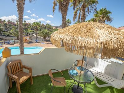 Photo for Oasis Royal 13 pool view apartment Corralejo by Lightbooking