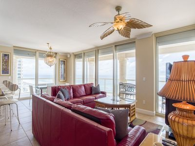 Photo for Beautiful Gulf Views and Just Steps to the Beach! ~ Complimentary Beach Chairs and Umbrella