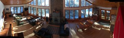 Photo for Franklin Lake Chalet and Guest Cabin