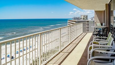 Photo for Dunes of Panama Amazing Condo, All Rooms Gulf Front View, wrap around Balcony!
