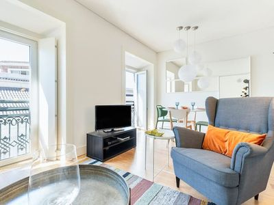 Photo for Fancy 1BR Flat at the heart of Lisbon II