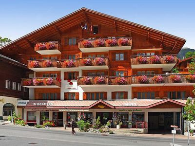 Photo for Apartment in the center of Grindelwald with Lift, Parking, Internet, Balcony (38037)