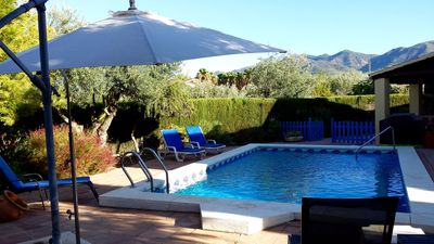 Photo for Finca & Private Pool, Mountain Views, Local Spanish Town