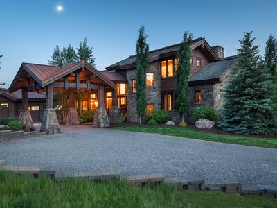Photo for Enjoy Summer in Jackson Hole at this Bold, Private Home in Horsethief Canyon!