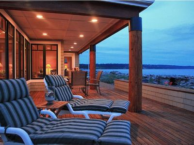 Photo for Beautiful Whidbey Island Waterfront Beach House