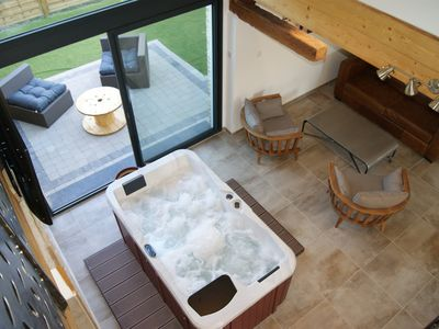 Photo for CHARMING GITE WITH SAUNA AND PRIVATE EARTH SPA