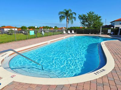 Photo for Gated resort, Orlando pool home, w/ View, Spa, 6 miles to Disney