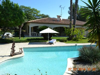 Photo for DOLCE VITA SWIMMING POOL AND PALM HILLS OF NICE