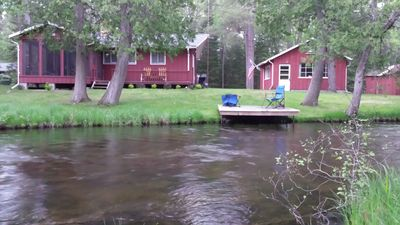 Photo for 2BR Cabin Vacation Rental in Luzerne, Michigan