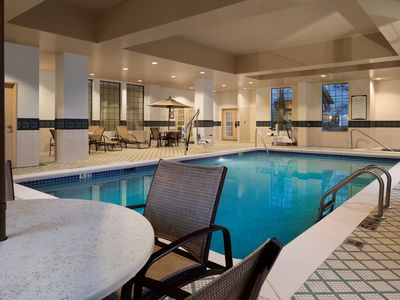 Photo for Suite with FREE SHUTTLE Access   Free Breakfast, Shared Hot Tub + Pool