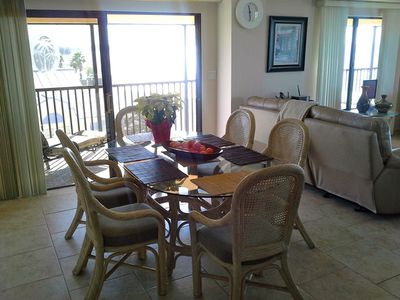 Large dining area with walkout to balcony.